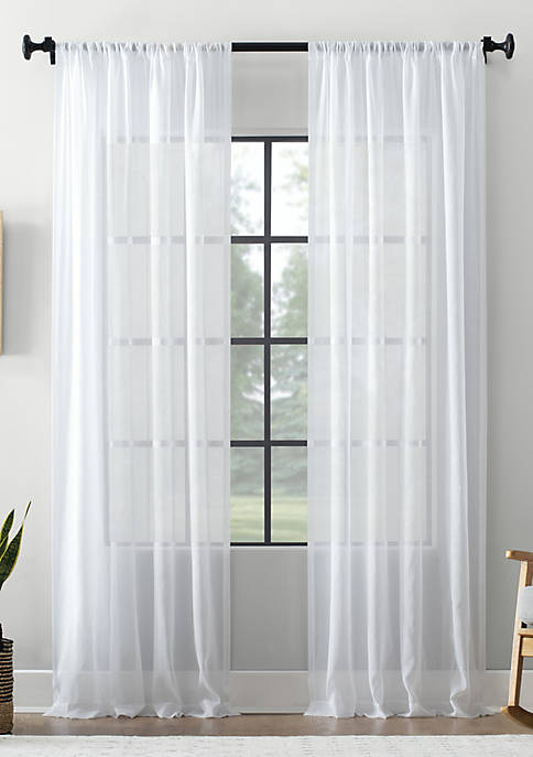 Archaeo Textured Sheer Curtain