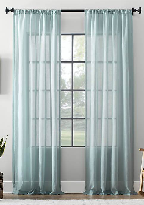 Textured Sheer Curtain