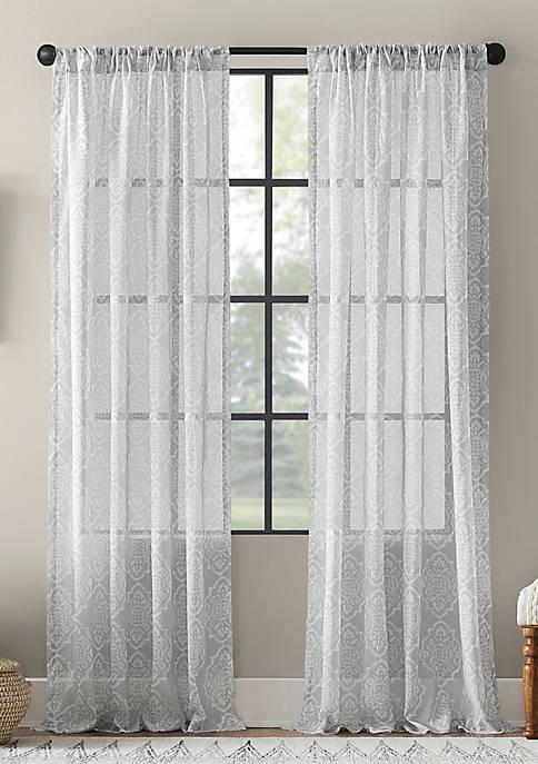 Global Block Sheer Curtain