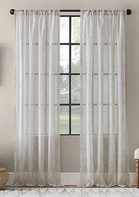Archaeo Global Block Sheer Curtain