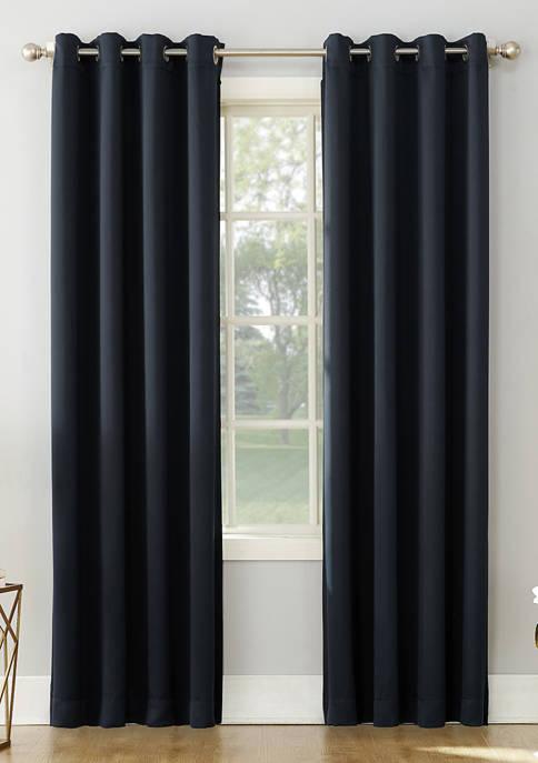 Saxon Energy Saving Blackout Grommet Curtain Panel