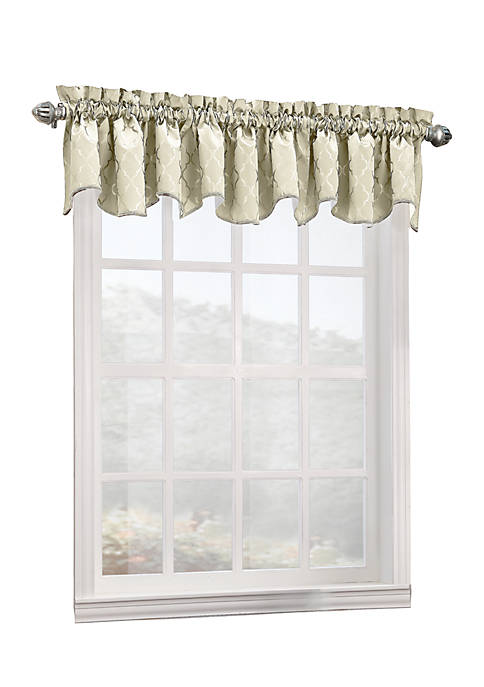 Annette Rod Pocket Thermal Valance 18-in. x 40-in.
