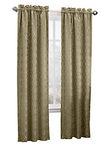Annette Rod Pocket Thermal Window Treatment  40-in. x 95-in.