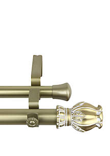Rod Desyne Regent Expandable Double Curtain Rod