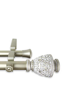 Veda Adjustable Double Curtain Rod