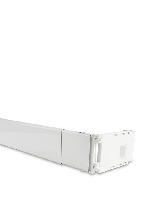 Wide Pocket Curtain Rod 18-28 inch