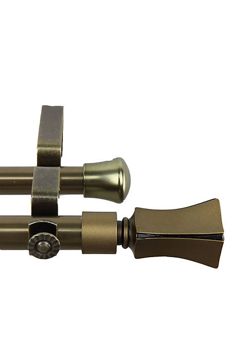 Rod Desyne Fort Double Curtain Rod