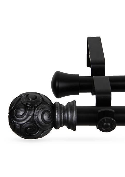Rod Desyne Bonbon Double Curtain Rod 48-in.