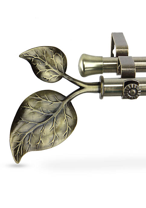 Ivy Double Curtain Rod  28-in. - 48-in.