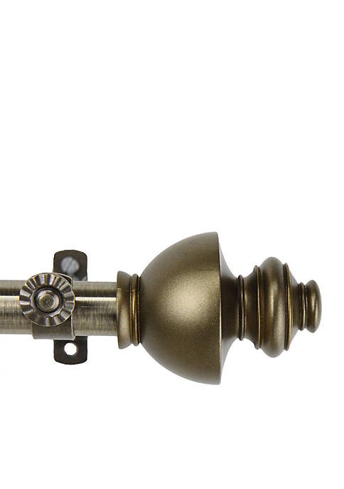 Dynasty Adjustable Curtain Rod 120-in.-170-in.
