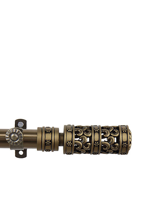 Whirl Adjustable Curtain Rod 66-in.-120-in.