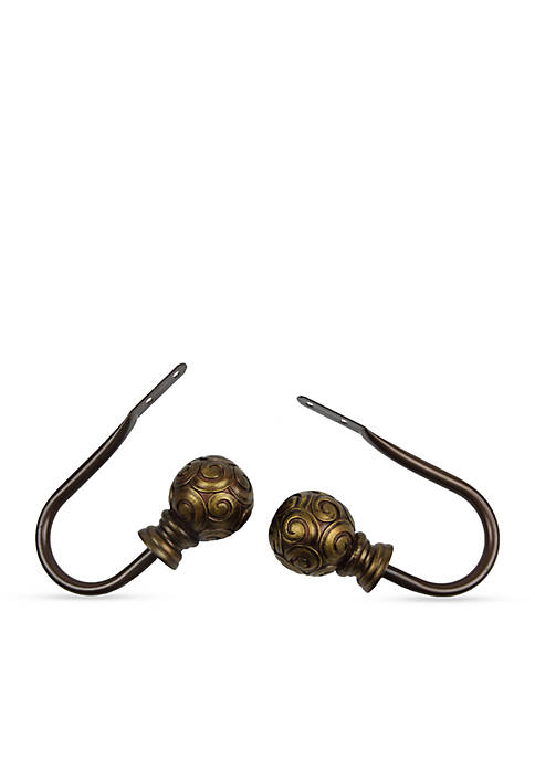 Rod Desyne Bonbon Curtain Holdback Pair