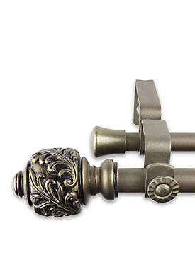 Tilly Double Curtain Rod 48-in.  - 84-in.
