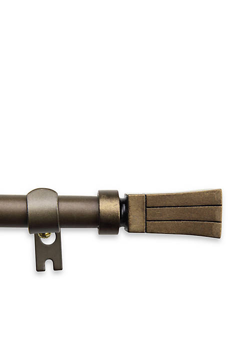 Flare 5/8-in. Adjustable Curtain Rod 48-in. - 84-in.