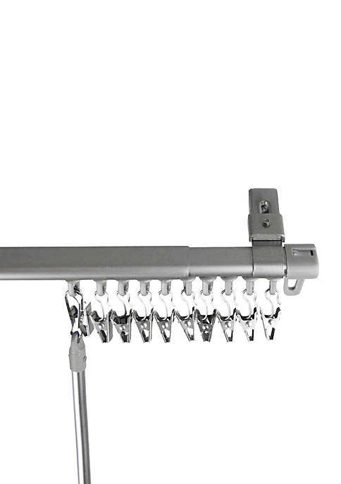 Armor Adjustable Curtain Track 66-in. - 120-in.