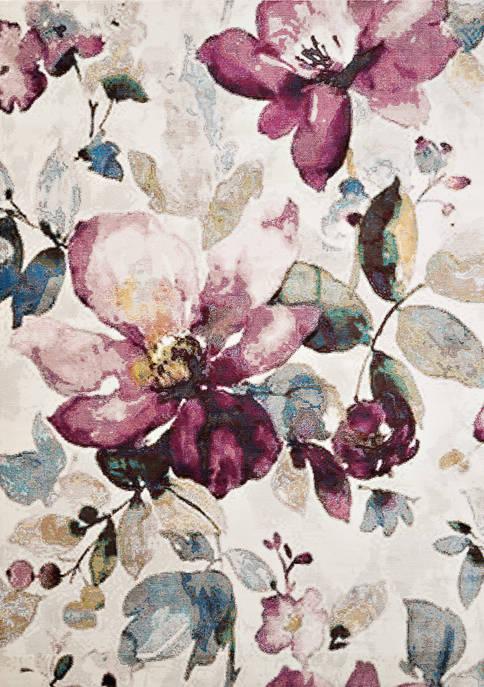 Rhapsody Floral Garden Rug Collection