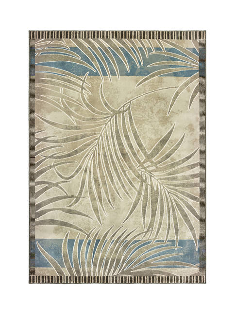Original Palm Natural Oversize Rug 7 ft 10 in x 10 ft 6 in
