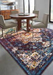 Bohemian Bahama Multi Accent Rug 1 ft 10 in x 3 ft