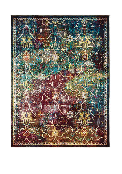 United Weavers Bohemian Montego Multi Accent Rug 1