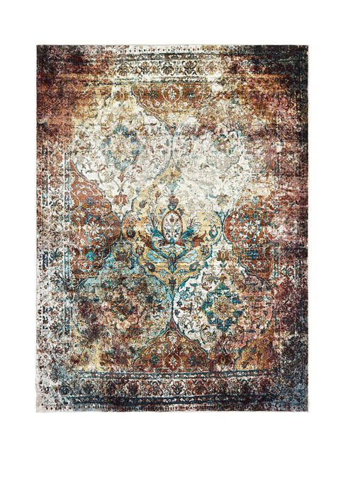 Bohemian Martinique Mult Accent Rug 1 ft 10 in x 3 ft