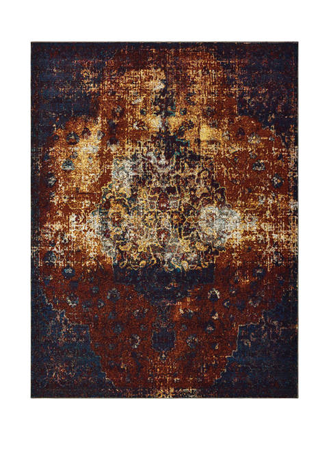 Bohemian Barbados Multi Accent Rug 1 ft 10 in x 3 ft