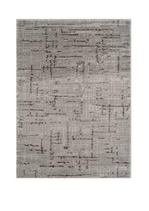 Mystique Kismet Gray Oversize Rug 7 ft 10 in x 10 ft 6 in