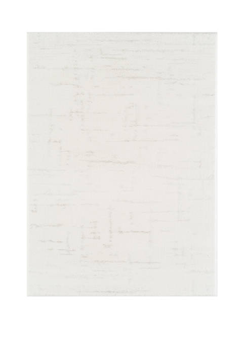 Mystique Kismet White Oversize Rug 7 ft 10 in x 10 ft 6 in