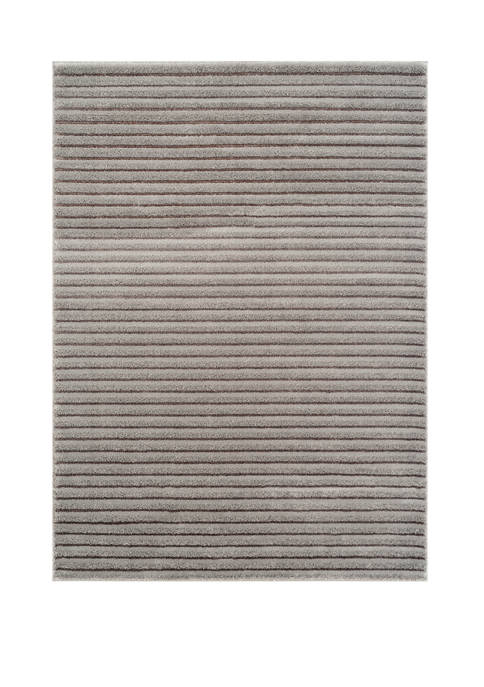Mystique Baird Gray Oversize Rug 7 ft 10 in x 10 ft 6 in