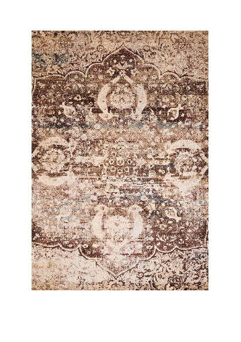 1 ft 10 in x 3 ft Jules Imperial Brown Accent Rug