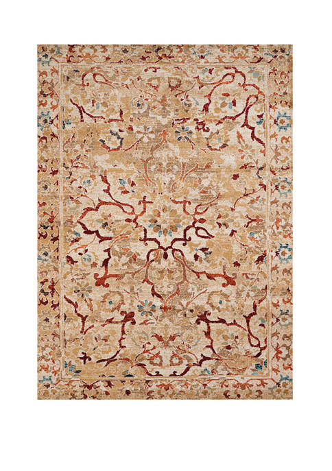 7 ft 10 in X 10 ft 6 in Bridges Villa Bella Taupe Oversize Rug