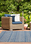 7 ft 10 in x 10 ft 6 in Augusta Diani Blue Oversize Rug