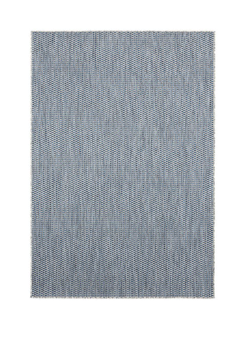 7 ft 10 in x 10 ft 6 in Augusta Dominical Blue Oversize Rug