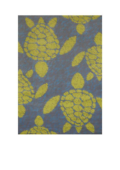 Panama Jack® Sea Turtle Rug