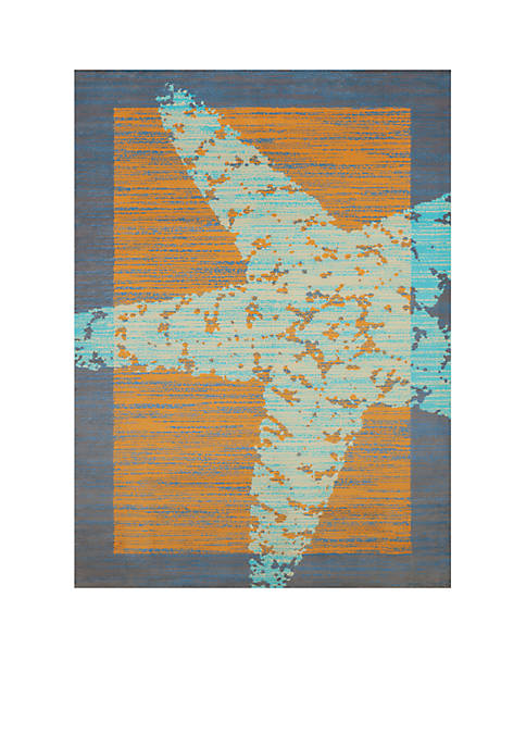 Panama Jack® Star Fish Border Rug
