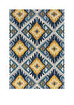 5 ft 3 in x 7 ft 2 in Abigail Tinley Midnight Blue Area Rug