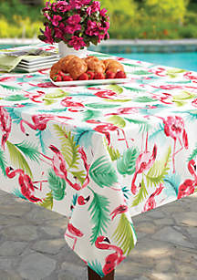 Flamingo Spill Proof Tablecloth