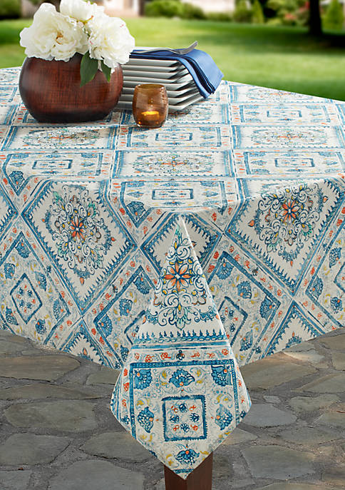 Benson Mills Aurora Spill Proof Tablecloth