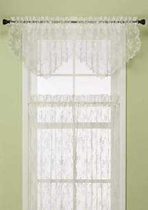 Saturday Knight Petite Fleur Ascot Valance