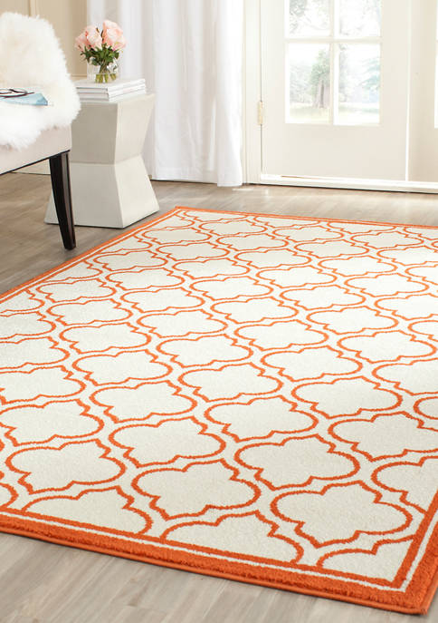 Safavieh Amherst Reverse Moroccan Tile Area Rug Collection