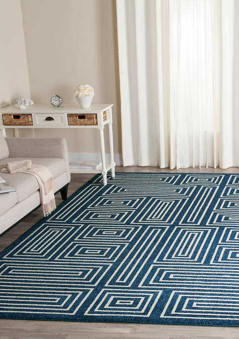 Safavieh Amherst Geometric Square Maze Area Rug Collection