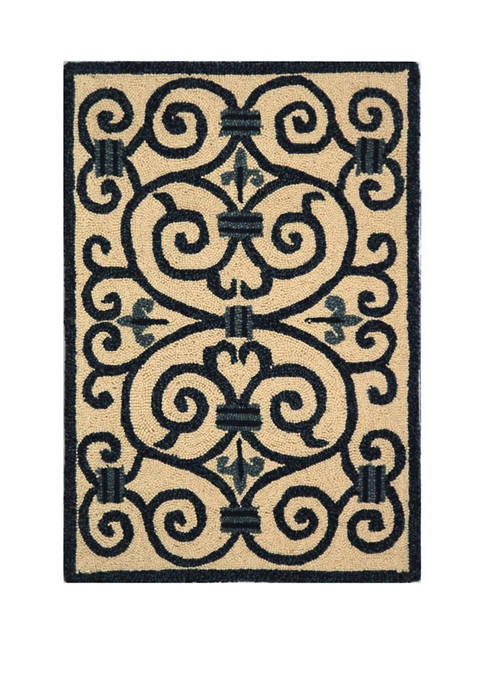 Chelsea Cherrelle Country Oriental Area Rug Collection