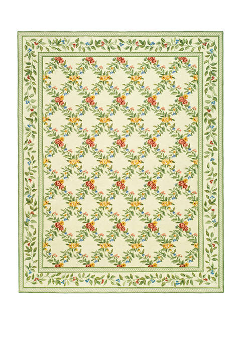 Chelsea  Symmetrical  Floral Area Rug Collection
