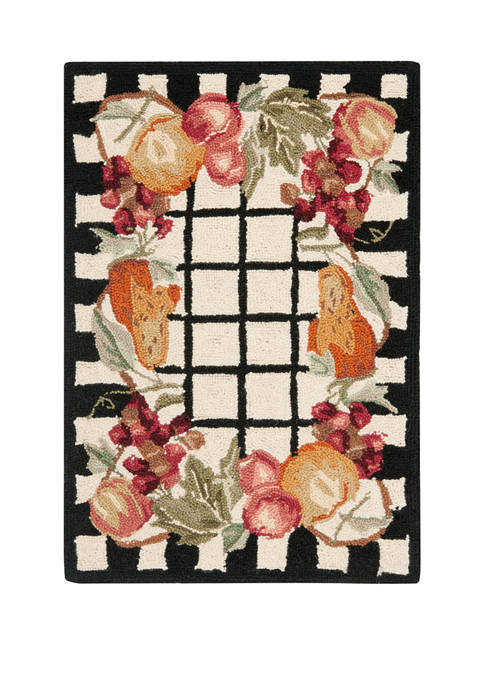 Chelsea Accent Fruit  Area Rug Collection