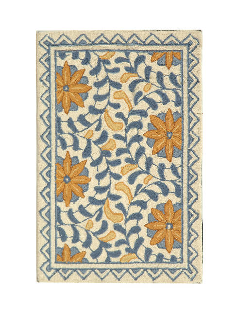 Chelsea Hand Hooked Premium Wool Area Rug Collection