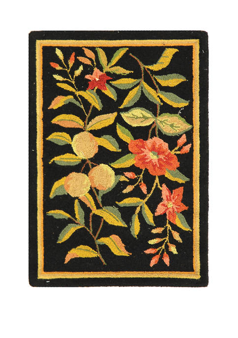 Chelsea Oriental Colonial  Floral Area Rug Collection