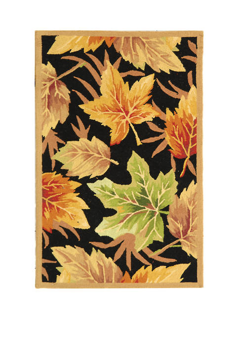 Chelsea Fall Leaves Area Rug Collection