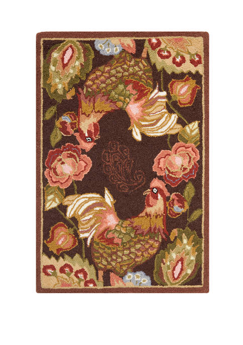 Chelsea Barn Rooster Area Rug Collection