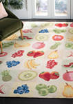 Chelsea Simplistic Fruit Area Rug Collection