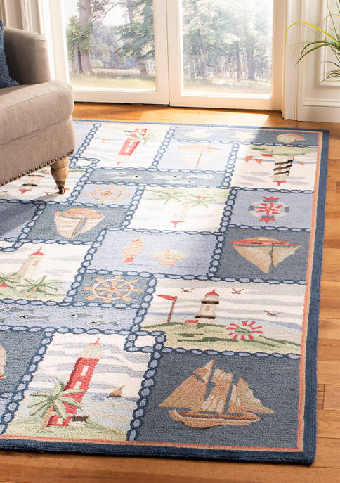 Chelsea Lighthouse and Sailboat Area Rug Collection