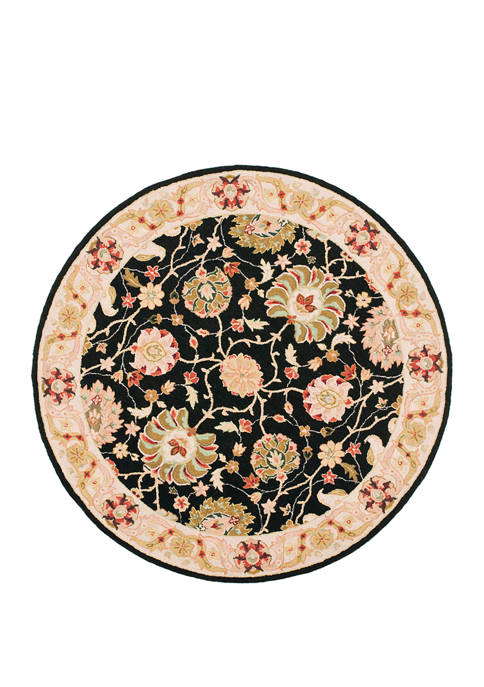 Chelsea Large Floral on Small Vines Area Rug Collection